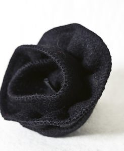 Katherine Emtage Black Corsage Harris Tweed 2