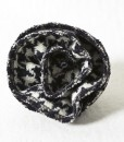 Katherine Emtage Black and White Houndstooth Corsage Borders Tweed 1