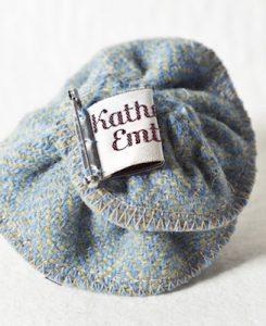Katherine Emtage Blue Lovat Corsage Harris Tweed 3