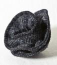 Katherine Emtage Charcoal Herringbone Corsage Harris Tweed 2