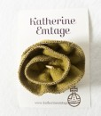 Katherine Emtage Chartreuse Corsage on Card Harris Tweed 1