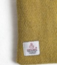 Katherine Emtage Chartreuse Phone Case Harris Tweed Label Detail