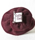 Katherine Emtage Dark Cherry Corsage Harris Tweed 3