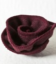 Katherine Emtage Dark Cherry Corsage Harris Tweed 4