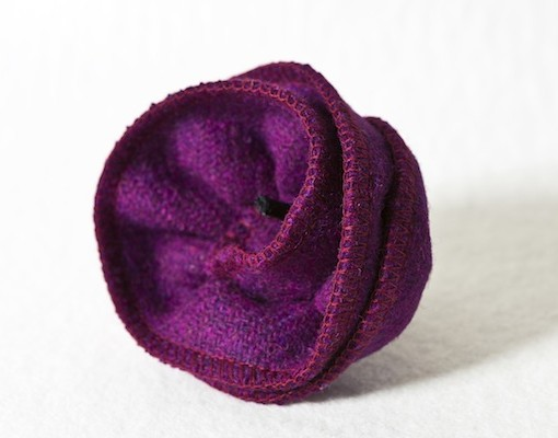 Katherine Emtage Grape Corsage Harris Tweed 2