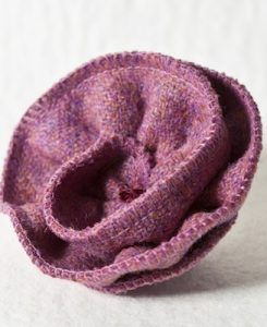 Katherine Emtage Heather Corsage Harris Tweed 1