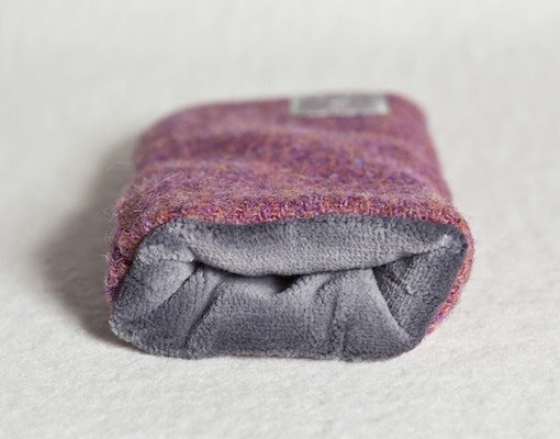 Katherine Emtage Heather Phone Case Harris Tweed Grey Lining