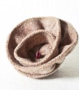 Katherine Emtage Pale Salmon Corsage Harris Tweed 2