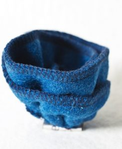 Katherine Emtage Peacock Blue Corsage Harris Tweed 4