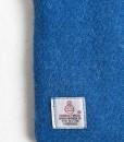 Katherine Emtage Peacock Blue Phone Case Harris Tweed Label Detail