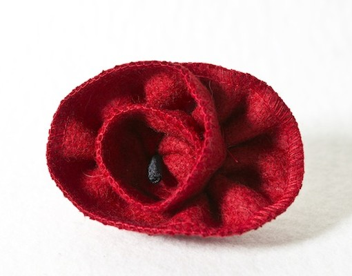 Katherine Emtage Poppy Corsage Borders Tweed 1