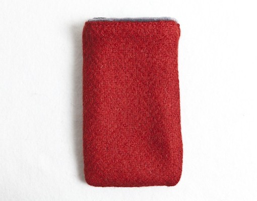 Katherine Emtage Poppy Phone Case Borders Tweed
