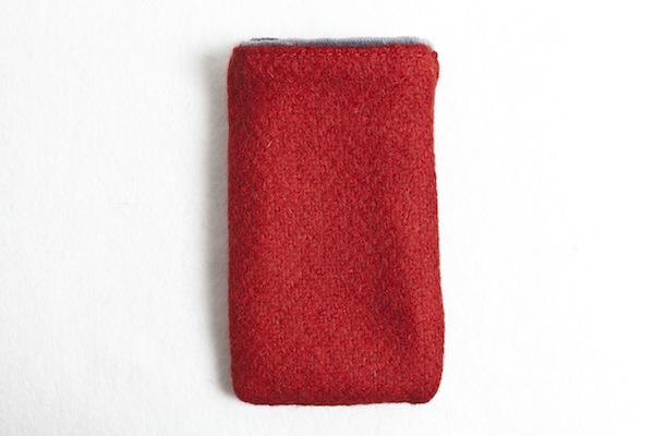 Katherine Emtage Poppy Phone Case Borders Tweed