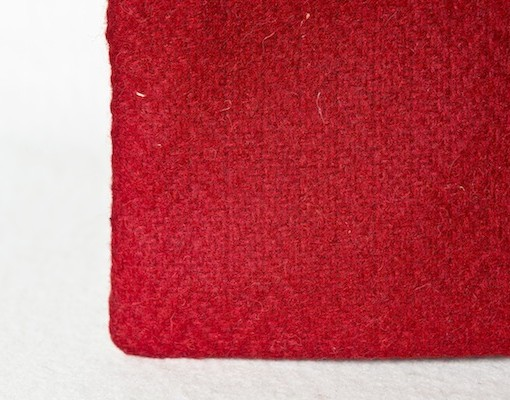 Katherine Emtage Poppy Pochette Borders Tweed Detail