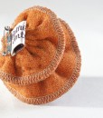 Katherine Emtage Tangerine Corsage Harris Tweed Reverse