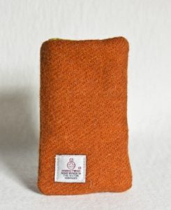 Katherine Emtage Tangerine Phone Case Harris Tweed