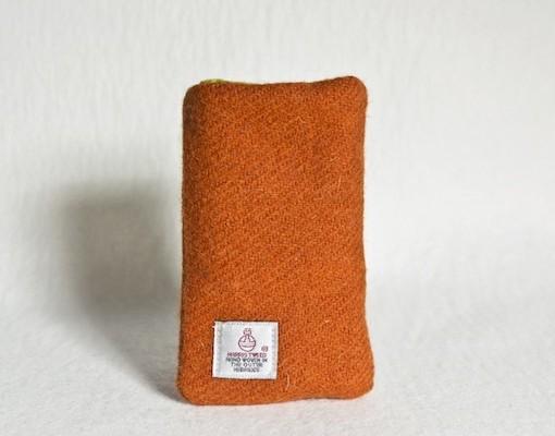 Katherine Emtage Tangerine Phone Case Harris Tweed