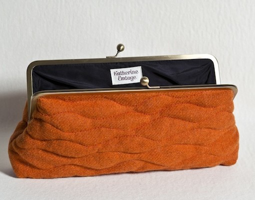 Katherine Emtage Tangerine Sargasso Open Harris Tweed