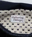 Katherine Emtage Ultimate Man Bag Black Harris Tweed PU Nylon Detail