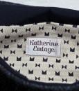 Katherine Emtage Ultimate Man Bag Black Harris Tweed PU Nylon Detail