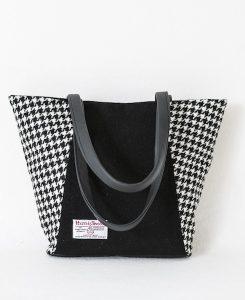 Katherine Emtage Anna Day Bag black and white back