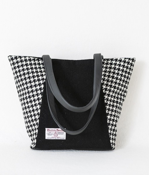 Katherine Emtage Anna Day Bag black and white back
