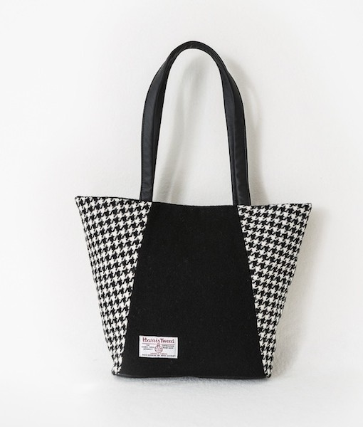 Katherine Emtage Anna Day Bag black and white reverse