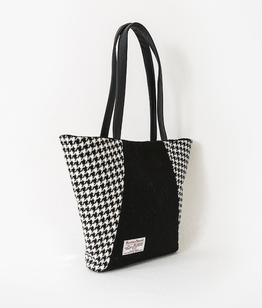 Katherine Emtage Anna Day Bag side black and white