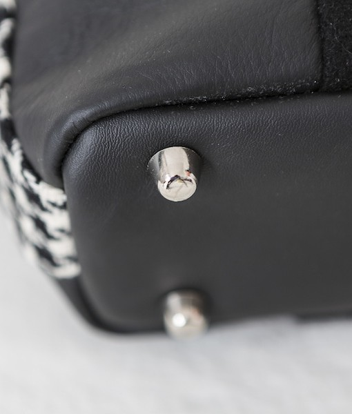 Katherine Emtage Anna bag base detail black and white