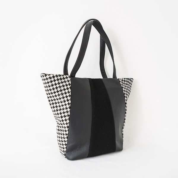 Katherine Emtage Freda Day Bag black and white