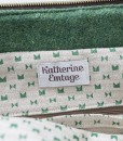 Katherine Emtage Freda Day Bag inside detail Harris Tweed