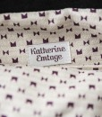 Katherine Emtage Freda Day Bag inside detail black and white