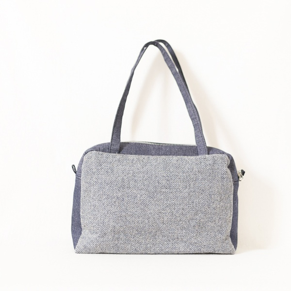 Katherine Emtage Elsie Day Bag limited edition Elgin blue front
