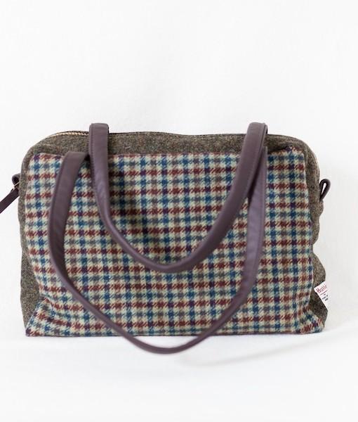Katherine Emtage Elsie Day Bag limited edition brown green