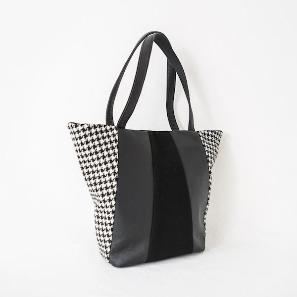 Katherine Emtage Freda Day Bag black and white
