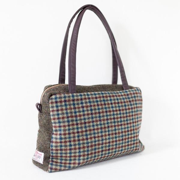 Katherine Emtage Elsie Day Bag green brown limited edition angle 2